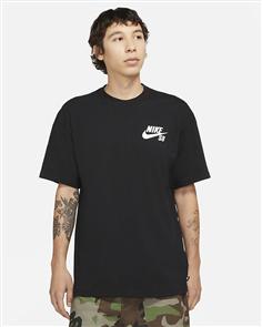 Nike SB Logo Tee, Black/White