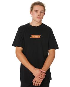 Santa Cruz Check Strip Hue Short Sleeve Tee, Black