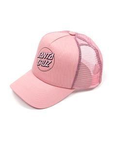 Santa Cruz OTHER DOT TRUCKER CAP-GIRLS, PEONY