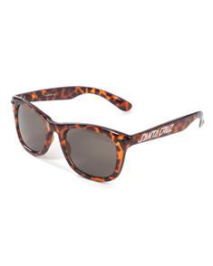 Santa Cruz Strip Shades Sunglasses, Tortoise