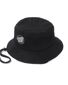 Santa Cruz Aptos 2 Bucket Hat, Black