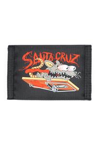 Santa Cruz RAT SLASHER VELCRO WALLET - YOUTH, BLACK