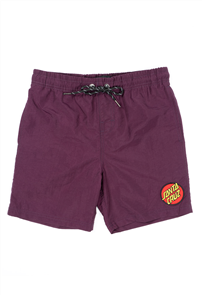 Santa Cruz CLASSIC DOT BEACH SHORT, Grape