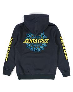 Santa Cruz YOUTH MANDALA HAND POP HOOD, BLUE NIGHTS