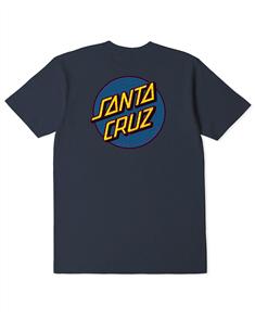 Santa Cruz FRAMEWORK DOT TEE - YOUTH, BLUE NIGHT