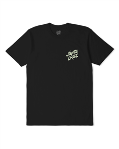 Santa Cruz MACE GLOW DOT TEE-YOUTH, BLACK