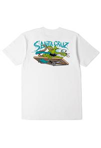 Santa Cruz RAT SLASHER TEE, WHITE