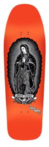 Santa Cruz Jessee Guadalupe ReIssue Deck 9.8in x 32.02in, Metallic ink/ Neon Dip