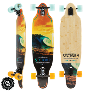 "Sector 9 Longboards Scorcher Striker (36.5"" x 9.5"" WB - 22.75"" )"