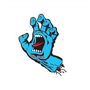 Santa Cruz Screaming Hand Sticker 6inch