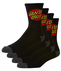 Santa Cruz Cruz Youth Sock 4Prb
