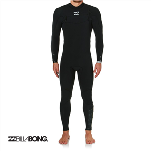 Billabong 3/2mm Furnace Carbon Comp Chest Zip Full Suit
