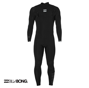 Billabong 4/3mm Furnace Carbon Comp Chest Zip Steamer