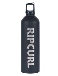 Rip Curl Staple Stainless Drink Bottle, Black