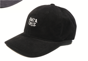 Santa Cruz Cruzin Dad Cap, Black