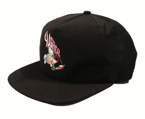Santa Cruz Og Slasher Youth Snap Back, Black
