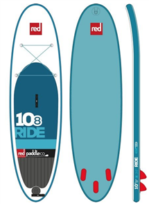 "Red Paddle Co 10'8"" Ride Inflatable Sup 2017 Model"