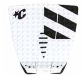 Creatures Of Leisure Mick Fanning Tail Grip Pad, White Black