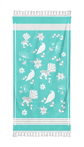 Moana Rd Beach Towel - NZ Birds