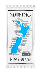 Moana Rd Beach Towel - Surfing NZ