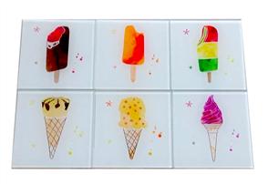 Moana Rd Ice Cream Coasters