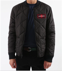 Independent Bc Patch Quilted Jacket, Black