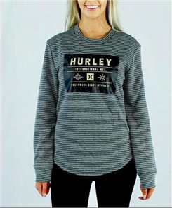 Hurley Fri-Fit Dakota Long Sleeve T-Shirt, 07F
