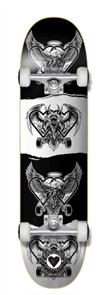 The Heart Supply Dark Light Pro Skate Complete, Black/White