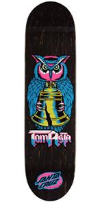 Santa Cruz Deck, Asta Night Owl Powerply 8.0 x 31.5