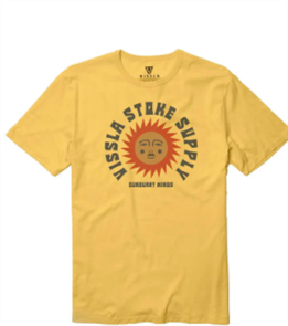Vissla Sun Supply Tee, Gold Coral