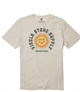 Vissla Sun Supply Tee, Bone