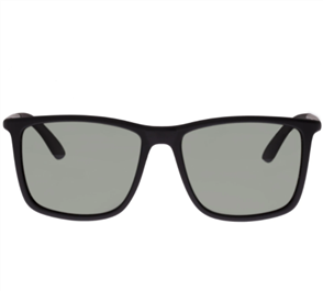LE SPECS TWEEDLEDUM SUNGLASSES, MATTE BLACK