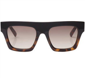 LE SPECS SUBDIMENSION SUNGLASSES, BLACK TORT
