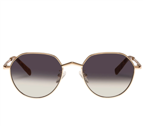 LE SPECS NEWFANGLE SUNGLASSES, GOLD