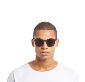 Le Specs BANDWAGON SUNGLASSES, BLACK RUBBER