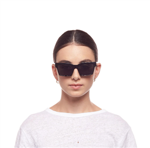 Le Specs AZZURRA SUNGLASSES, BLACK/ GOLD