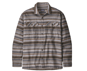 Patagonia L/S Fjord Flannel Shirt, Brown