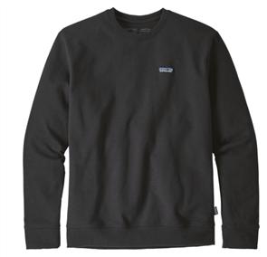 Patagonia P-6 Label Uprisal Crew Sweatshirt, Black