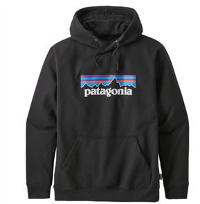 Patagonia P-6 Logo Uprisal Hoody, Black