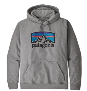 Patagonia Fitz Roy Horizons Uprisal Hoody, Grey