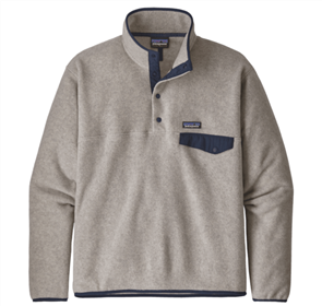Patagonia LW Synch Snap-T Pullover, Neutral