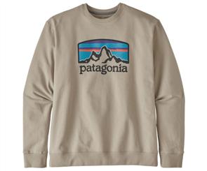 Patagonia Fitz Roy Horizons Uprisal Crew Sweatshirt, Neutral