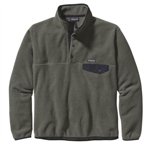 Patagonia LW Synch Snap-T Pullover, Grey