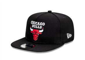 NewEra CHICAGO BULLS 9FORTY A-FRAME CAP, BLACK