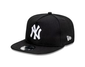 NewEra NEW YORK YANKEES 9FORTY A-FRAME CAP, BLACK