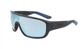 Dragon Vessel X LL Porlarized H20 Sunglasses, Matte Grey/ Super Blue Ion