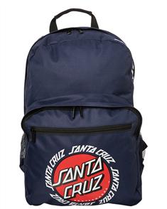 Santa Cruz Ringed Dot Backpack, Navy