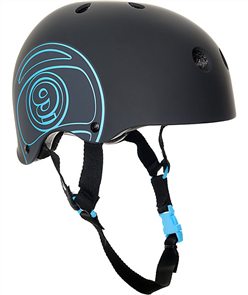 Sector 9 Longboards Logic Ii Helmet, Black, Black