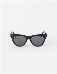 Stella + Gemma Miller Polarised Sunglasses, Black