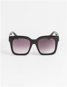 Stella + Gemma Gwyneth Polarised Sunglasses, Matt Black